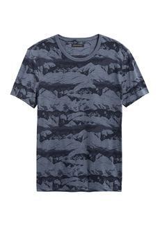 Banana Republic Mountain Camo T-Shirt