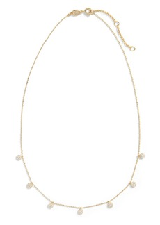 Banana Republic Multi Pavé Necklace