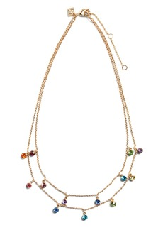 Banana Republic Multi Stone Layered Necklace