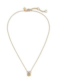 Banana Republic Nautical Knot Pendant Necklace