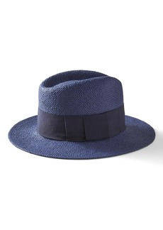 Banana Republic Navy Straw Hat