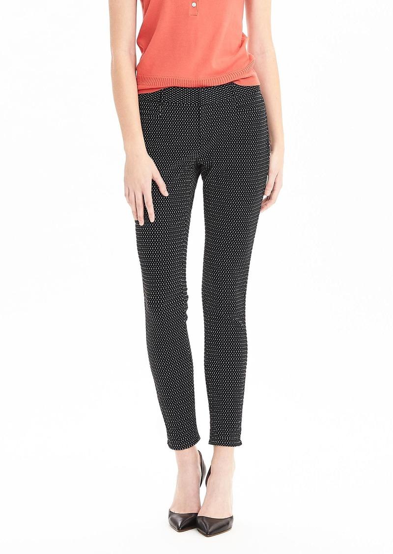 Banana Republic New Sloan-Fit Dash Print Slim Ankle Pant