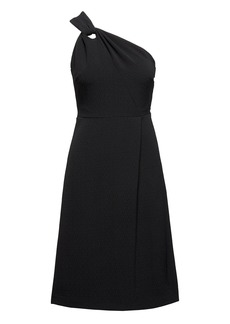 Banana Republic One-Shoulder Fit-and-Flare Dress