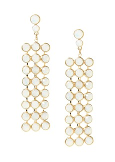 Banana Republic Opal Stone Chandelier Earring