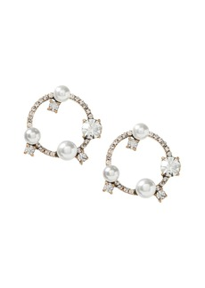 Banana Republic Open Pearl Cluster Stud Earring