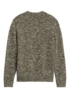 Banana Republic Organic Cotton High Crew-Neck Sweater