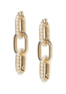 Banana Republic Outline Pearl Statement Earring