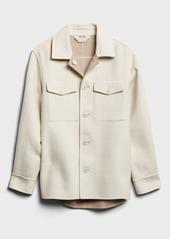 Banana Republic Oversized Reversible Shirt Jacket