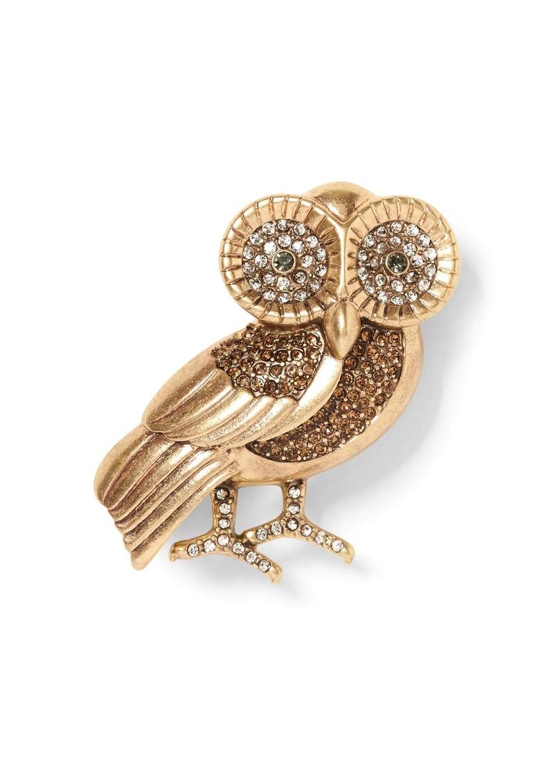 Banana Republic Owl Brooch
