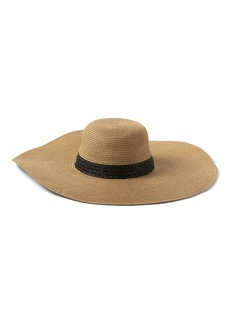 Banana Republic Packable Raffia Floppy Sun Hat