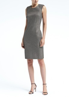Banana Republic Padded Cap-Sleeve Bi-Stretch Sheath Dress
