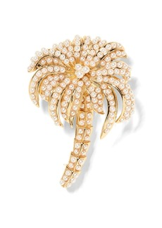 Banana Republic Palm Tree Brooch