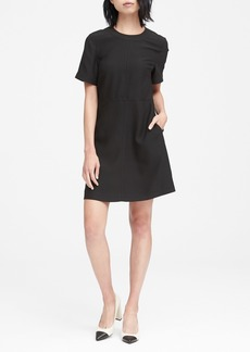 Banana Republic Paneled Fit-and-Flare Dress