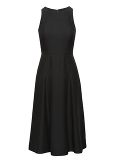 Banana Republic Paneled Midi Dress