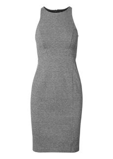 Paneled Ponte Sheath Dress