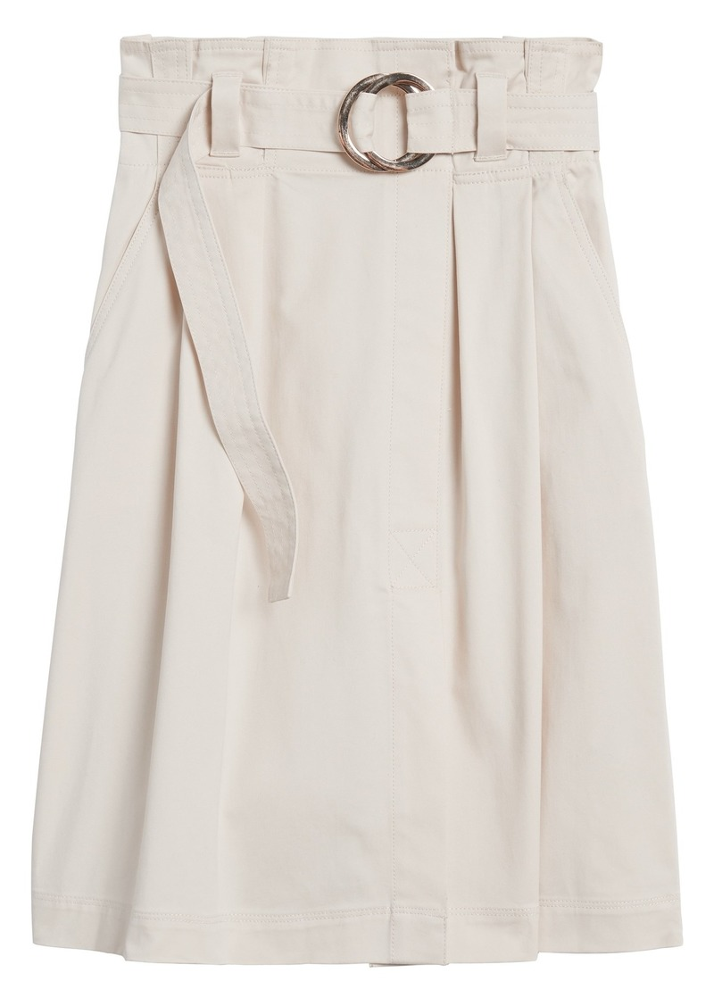 Banana Republic Paper Bag Midi Skirt