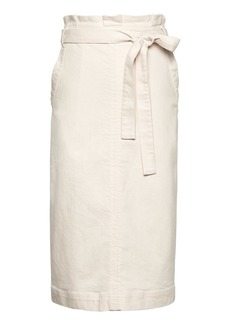 Banana Republic Paper Bag-Waist Pencil Skirt