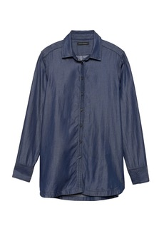 Banana Republic Parker Tunic-Fit TENCEL™ Shirt