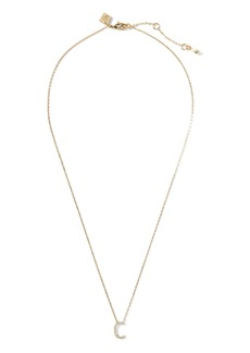 Banana Republic Pavé C Necklace