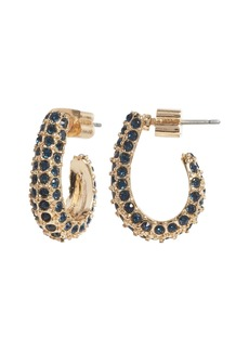 Banana Republic Pavé J-Hoop Earrings