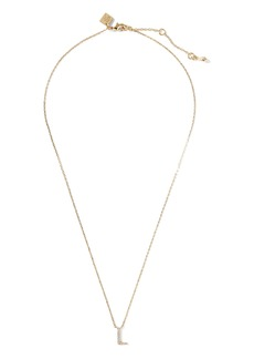 Banana Republic Pavé L Necklace