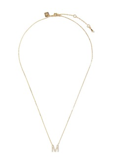 Banana Republic Pavé M Necklace