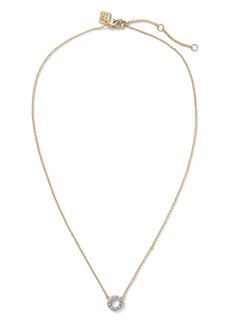 Banana Republic Pavé Open Circle Necklace