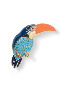 Banana Republic Pavé Toucan Brooch
