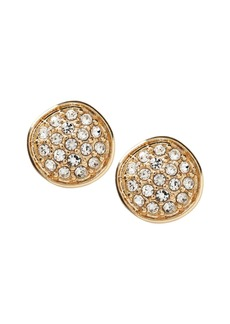 Banana Republic Pave Circle Stud Earring