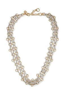 Banana Republic Pave Mesh Necklace