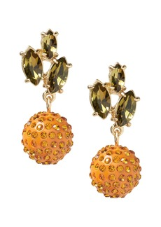 Banana Republic Pave Orange Drop Earring