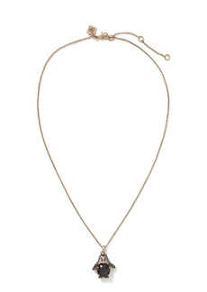 Banana Republic Pave Penguin Pendant Necklace