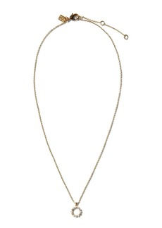 Banana Republic Pearl Circle Pendant Necklace