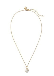 Banana Republic Pearl Delicate Pendant Necklace