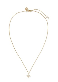 Banana Republic Pearl Foulard Pendant Necklace