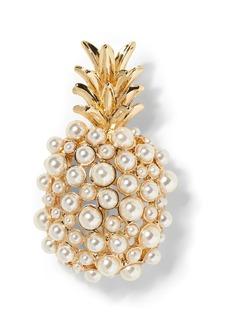 Banana Republic Pearl Pineapple Brooch