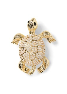 Banana Republic Pearl Turtle Brooch