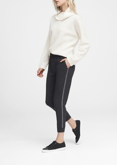 Banana Republic Performance-Stretch Side-Stripe Jogger Pant