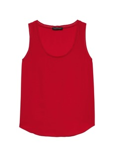 Banana Republic Picot-Trim Tank Top