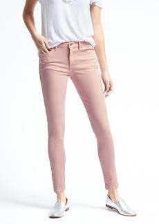 Pink Skinny Crop Jean