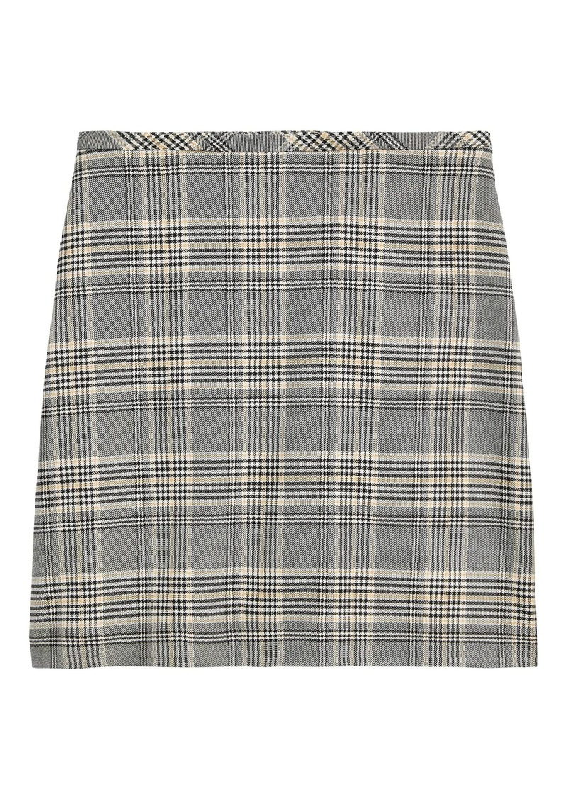 Banana Republic Plaid Mini Skirt