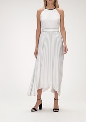 Banana Republic Pleated Fit-and-Flare Dress