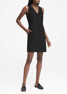 Banana Republic Pleated-Shoulder Shift Dress