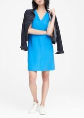 Banana Republic Pleated-Shoulder Shift Dress