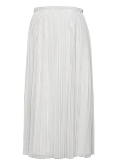 Banana Republic Pleated Tulle Midi Skirt