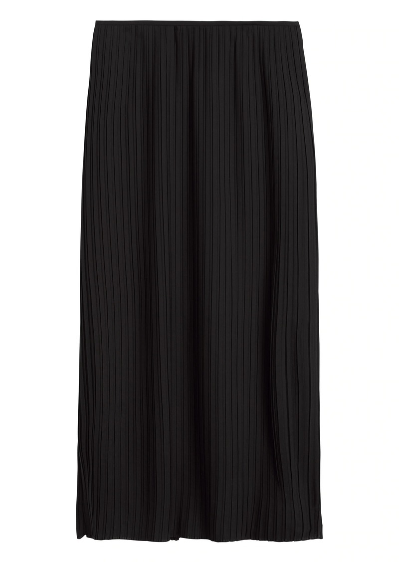 Banana Republic Plissé Midi Skirt