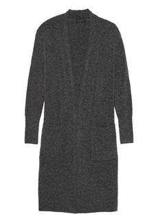 Banana Republic Plush Wool Blend Duster Cardigan Sweater