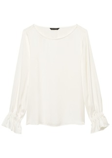 Banana Republic Poet-Sleeve Top