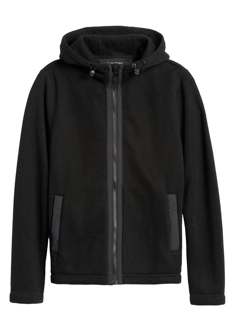 Banana Republic Polartec® Sweater Fleece Hoodie