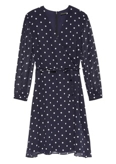 Banana Republic Polka Dot Wrap Dress